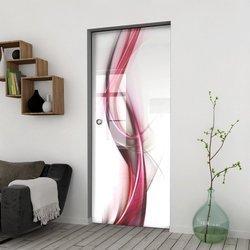 Drzwi Szklane Przesuwne 100 GR-H023 KASETA
