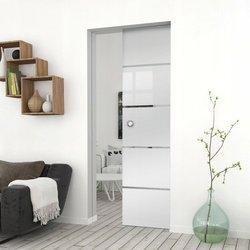 Drzwi Szklane Przesuwne 105 GEO11 KASETA