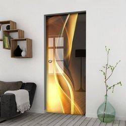 Drzwi Szklane Przesuwne 65 GR-H029 KASETA