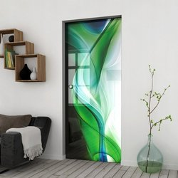 Drzwi Szklane Przesuwne 65 GR-H08 KASETA