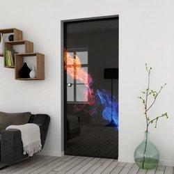 Drzwi Szklane Przesuwne 75 GR-H31 KASETA