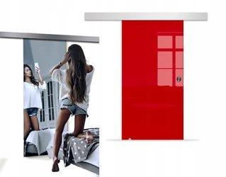Drzwi Szklane Przesuwne 850X2095 8MM VSG LUSTRO/CZ