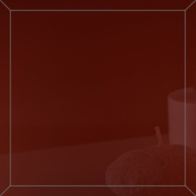 Kafelek lustrzany 10X10 4MM Faza Czerwony