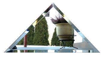Kafelek lustrzany 30x30X42 4MM Faza Srebrny Trójkąt