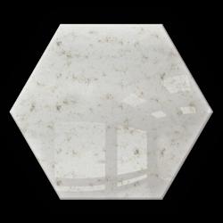 Płytka Lustrzana - 183x160 hexagon 4mm Szlif Poler Lustro Antyczne AG1 SILVER